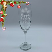 New Year Champagne Flute 220ml