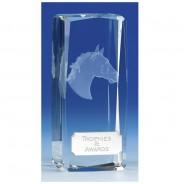 Clarity Crystal Horse