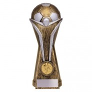 World Football Heavyweight Award Antique Gold & Silver
