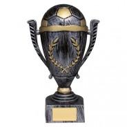 Emperor Football Heavyweight Award Antique Silver & Gold