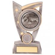 Swimming Trophy Award Prize Galaxy Marble Block  FREE ENGRAVING