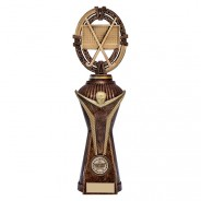 Maverick Hockey Heavyweight Award Antique Bronze & Gold