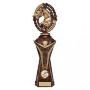 Maverick Equestrian Heavyweight Award Antique Bronze & Gold