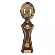 Maverick Karate Heavyweight Award Antique Bronze & Gold