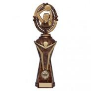 Maverick Netball Heavyweight Award Antique Bronze & Gold