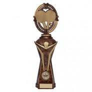Maverick Table Tennis Heavyweight Award Antique Bronze & Gold
