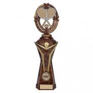 Maverick Tennis Heavyweight Award Antique Bronze & Gold