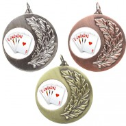 Poker Laurel Medals