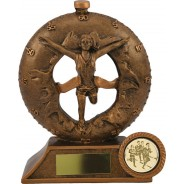 Bronze Female Athletics Trophy