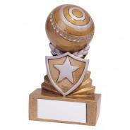 Shield Lawn Bowls Mini Award