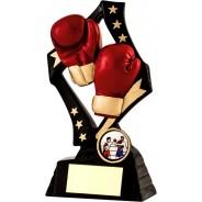 Black / Gold Boxing Star Trophy