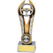 Resin Steering Wheel Motorsport Trophy