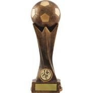 Bronze Football Tower Trophy