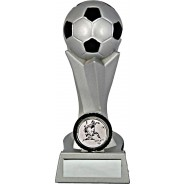 Silver Football Tower Trophy