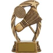Bronze Badminton Trophy