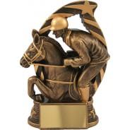 Bronze Horse and Jockey Trophy