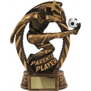 Parents Player Football Trophy