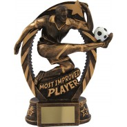 Most Improved Player Football Trophy