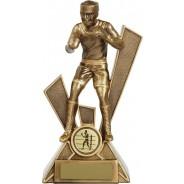 Bronze Boxing Trophy