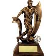 Bronze Male Football Trophy