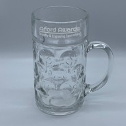 Rink Drink German Stein Beer Glass 2 pints