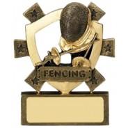 Mini Shield Fencing Award