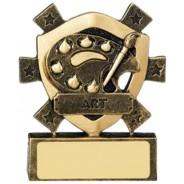 Art Mini Shield Trophy