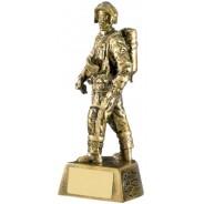 Firefigher Figure Trophy