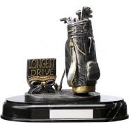 Silver Golf Trophy