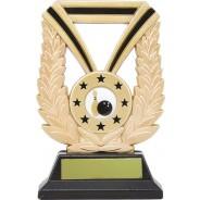 Gold Laurel Tenpin Bowling Trophy