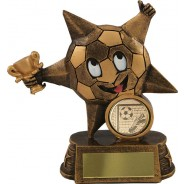 Bronze Star Football Trophy