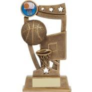Bronze Basketball Trophy