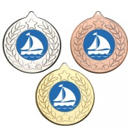 Sailing Stars and Wreath Medals