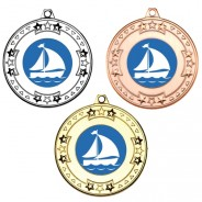 Sailing Tri Star Medals