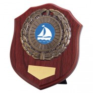 Meath Mahogany Plaque with Sailing Insert
