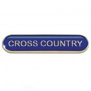 Bar Badge Cross Country
