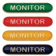 Scholar Bar Badge Monitor