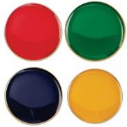 Scholar Pin Badge Round