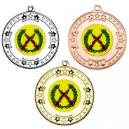 Shooting Tri Star Medals