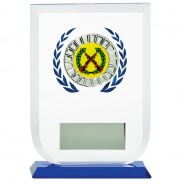 Multisport Glass Award with Shooting Insert