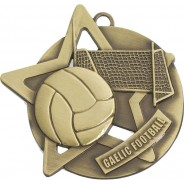 Gaelic Football Star Medal