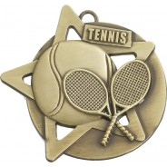 Tennis Star Medal