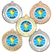 Sports Day Wreath Medals