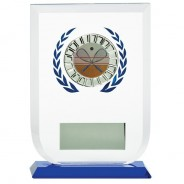 Multisport Glass Award with Squash Insert