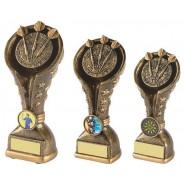 Gold Resin Darts Trophy