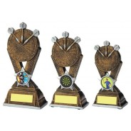 Gold Resin Darts Award