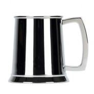 1 Pint Stainless Steel Tankard - Plain