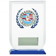 Multisport Glass Award with Swimming Insert