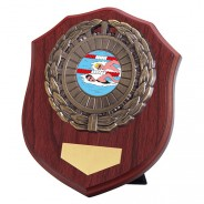 Meath Mahogany Plaque with Swimming Insert