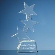 Optical Crystal Rising 3 Star Award